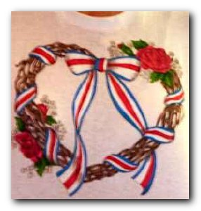 Transfer T4212 County Wreath