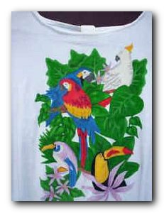 Transfer T4262 Tropical Birds