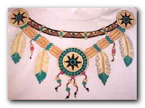 Transfer T4332 Indian Necklace