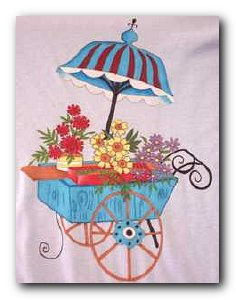 Transfer T4354 Flower Cart