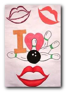 Transfer T4642 Love & Lips