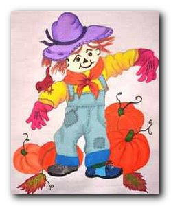 Transfer T4646 Young Scarecrow