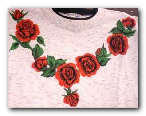 Transfer T4721 Rose Collar