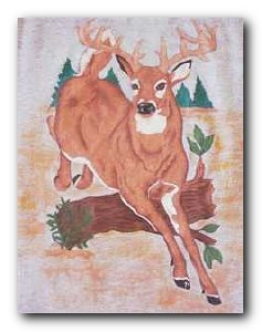 Transfer T4723 Jumping Deer