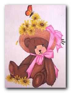 Transfer T4727 Easter Bonnet Bear