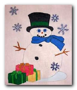 Transfer T4744 Gifted Snowman