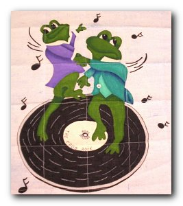 Transfer #T4760 – Hip Hop Frogs