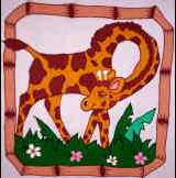 Transfer #AQ03-Animal Quilt Block Pak 01
