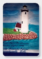 Lighthouse Quilt - 2011 01