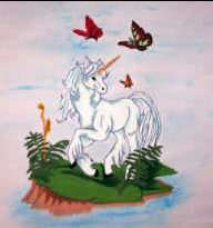 Transfer #UQ04 Unicorn Quilt Block Pak